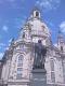 Frauenkirche Dresden mit Luther Denkmal